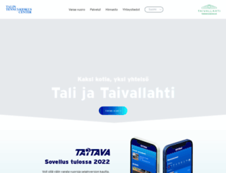 talintenniskeskus.fi screenshot