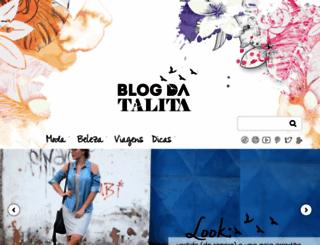 talitascoralick.com.br screenshot