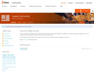 talk.bmc.com screenshot