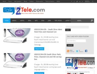 talk2tele.com screenshot