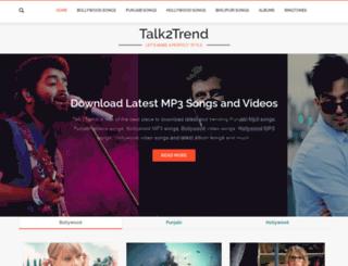 talk2trend.com screenshot