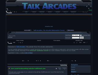 talkarcades.com screenshot