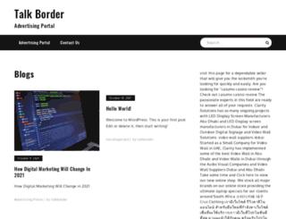 talkborder.com screenshot