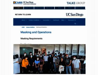 talkelab.ucsd.edu screenshot