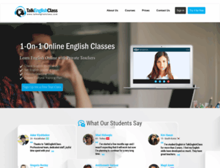 talkenglishclass.com screenshot