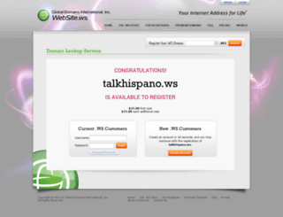 talkhispano.ws screenshot