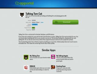 talking-tom-cat.apportal.co screenshot