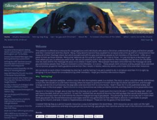 talkingdog.wordpress.com screenshot