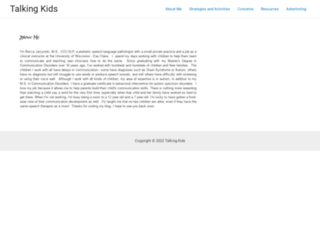 talkingkids.org screenshot