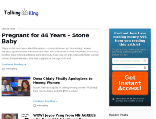 talkingking.com screenshot
