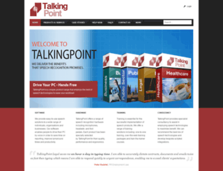talkingpoint.uk.com screenshot