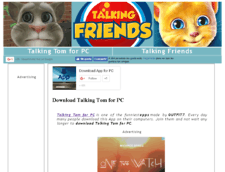 talkingtomforpc.net screenshot