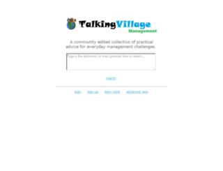 talkingvillage.com screenshot