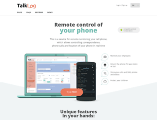 talklog.net screenshot