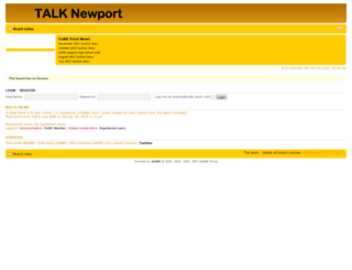 talknewport.co.uk screenshot
