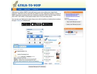 talkonaut.com screenshot