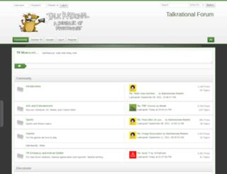 talkrational.org screenshot