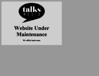talksmedia.com screenshot