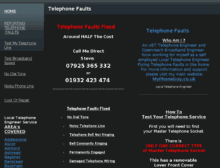 talktalkfaults.com screenshot