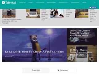 talkvital.com screenshot