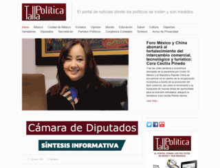 tallapolitica.com.mx screenshot