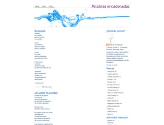 tallerdepalabrasencadenadas.blogspot.com screenshot