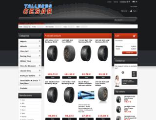 tallerescesar.com screenshot