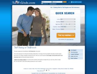 tallfriends.com screenshot