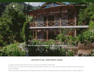 talltreesresort.com screenshot