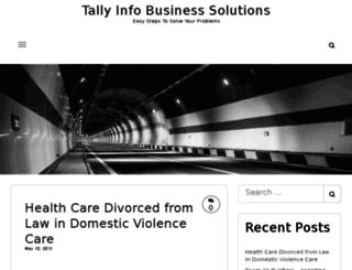 tallyinfo.com screenshot