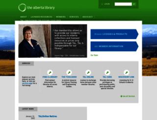 talonline.ca screenshot