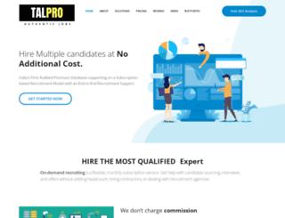 talpro.in screenshot