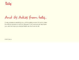 talqapp.com screenshot