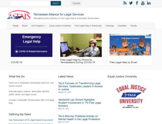 tals.org screenshot