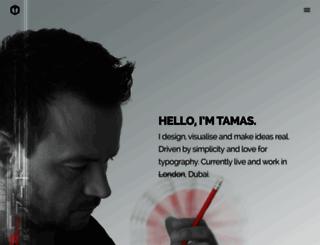 tamasbodo.com screenshot