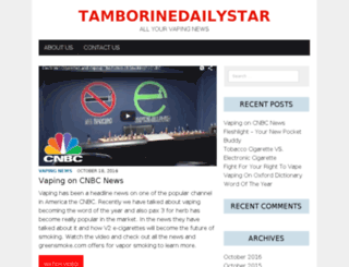 tamborinedailystar.com screenshot