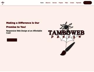 tamboweb.com screenshot