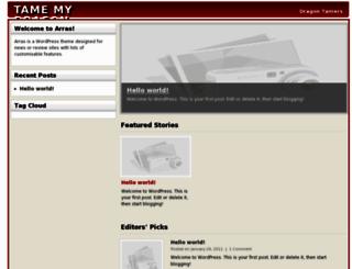 tamemydragon.com screenshot