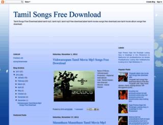 tamil-songs-freedownload.blogspot.ru screenshot