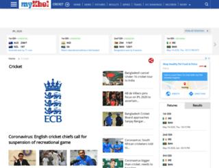 tamil.thatscricket.com screenshot