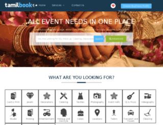 tamilbook.ch screenshot