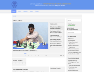 tamilchess.com screenshot