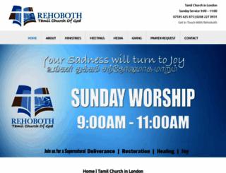 tamilchurchofgod.com screenshot