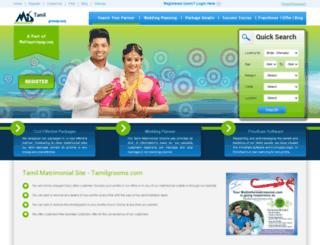 tamilgrooms.com screenshot