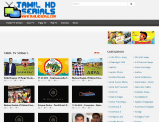 tamilhdserial.com screenshot