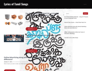 tamillyrics.net screenshot