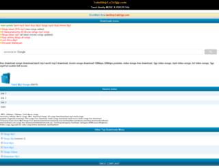 tamilmp3.a2z3gp.com screenshot