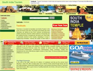 tamilnadu.south-india-tourism.com screenshot