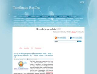 tamilnaduresult.blogspot.com screenshot