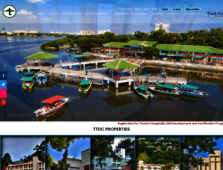 tamilnadutourism.org screenshot